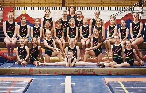 The Fremantle PCYC team heading to the Prime Gymnastics International Invitational.