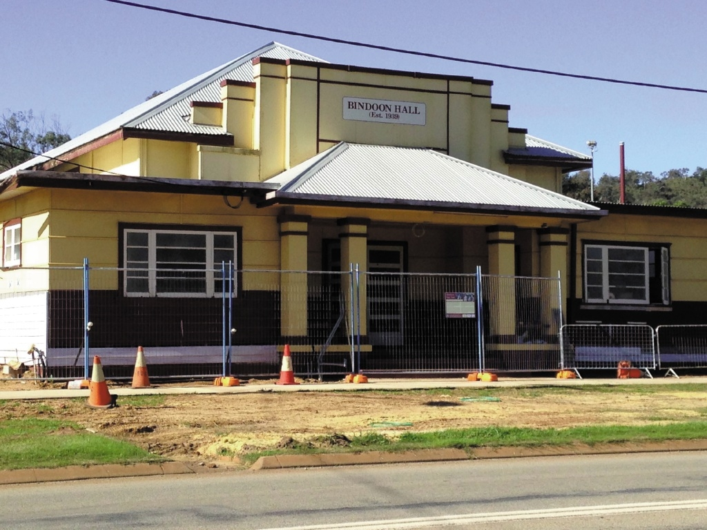 Bindoon Hall makeover progressing well