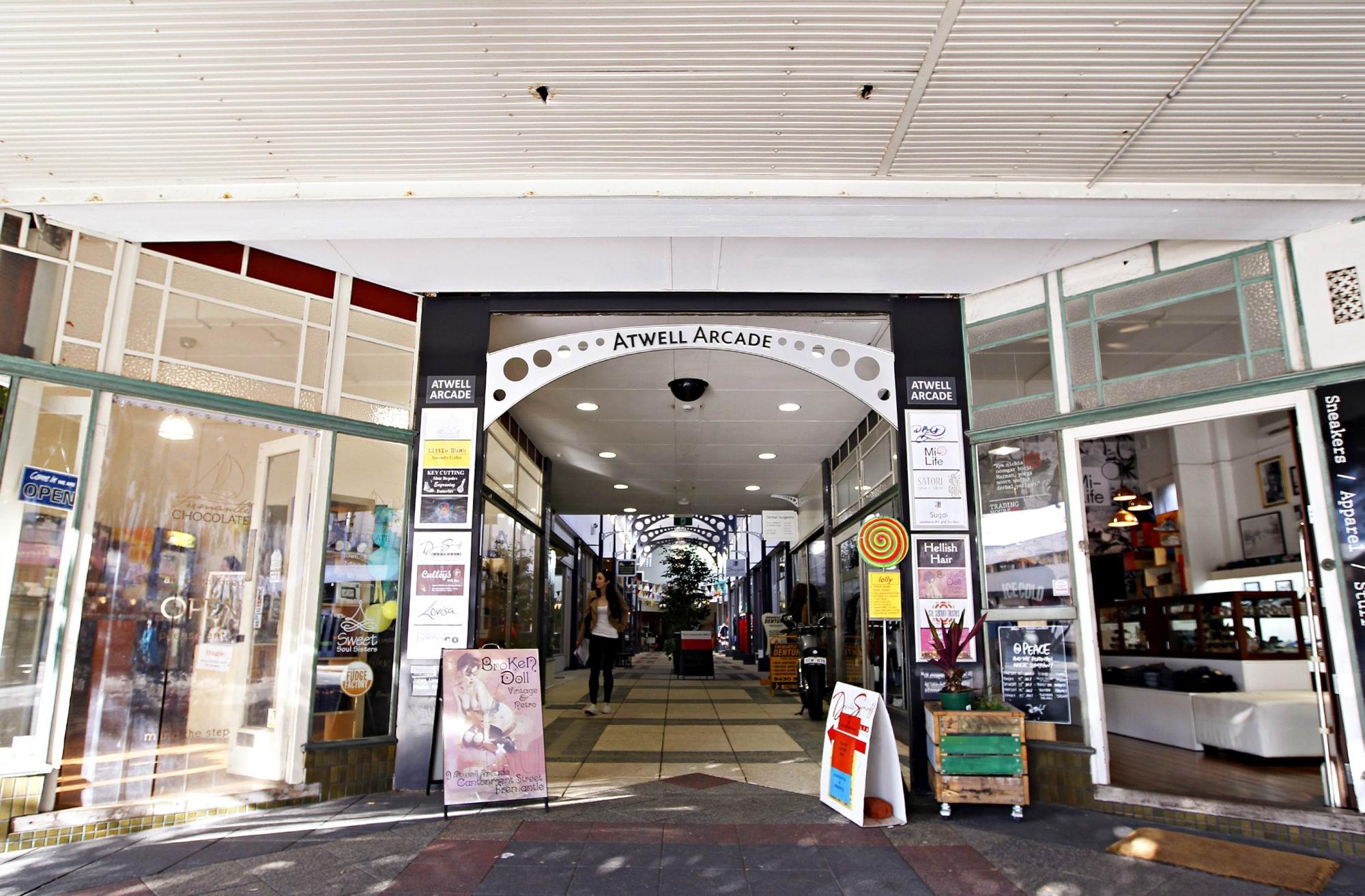 Atwell Arcade, Fremantle.