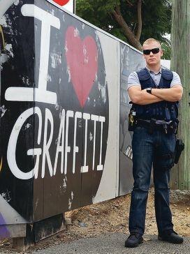 Police officer Callum Macarthur