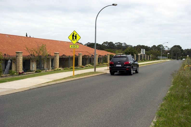 Local residents want speed cushions placed outside the retirement village on Drovers Place