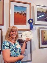 Artist excels at awards