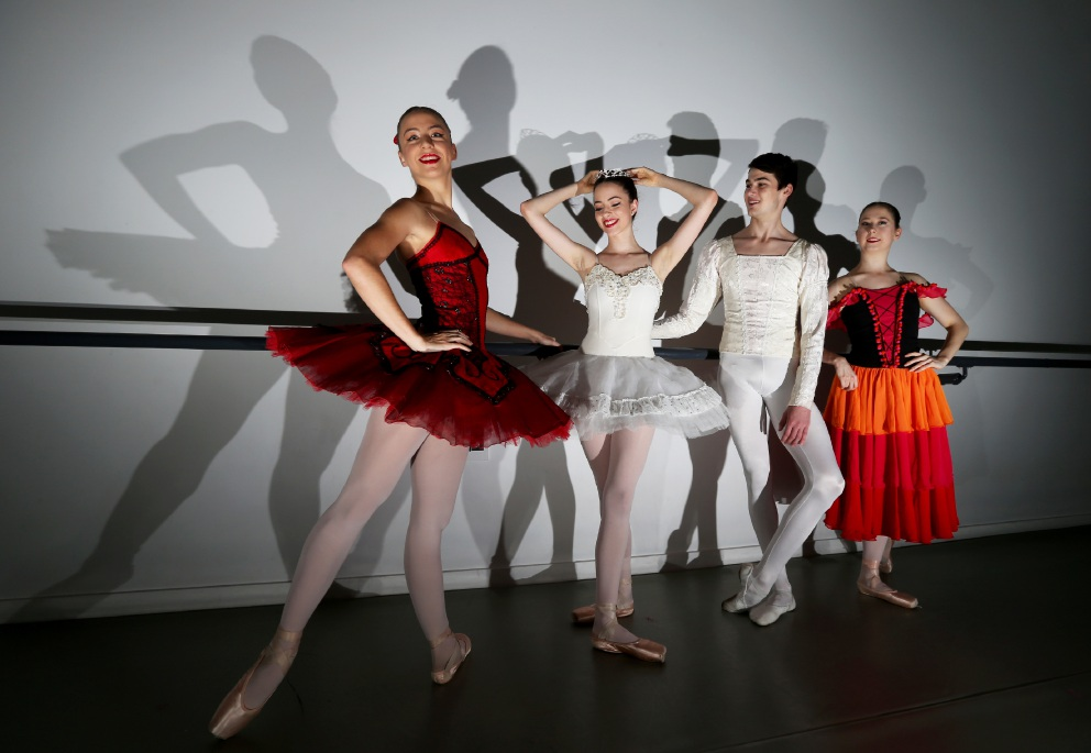Four of Burswood's graduating ballet students were showered with a number of offers for European dance schools.