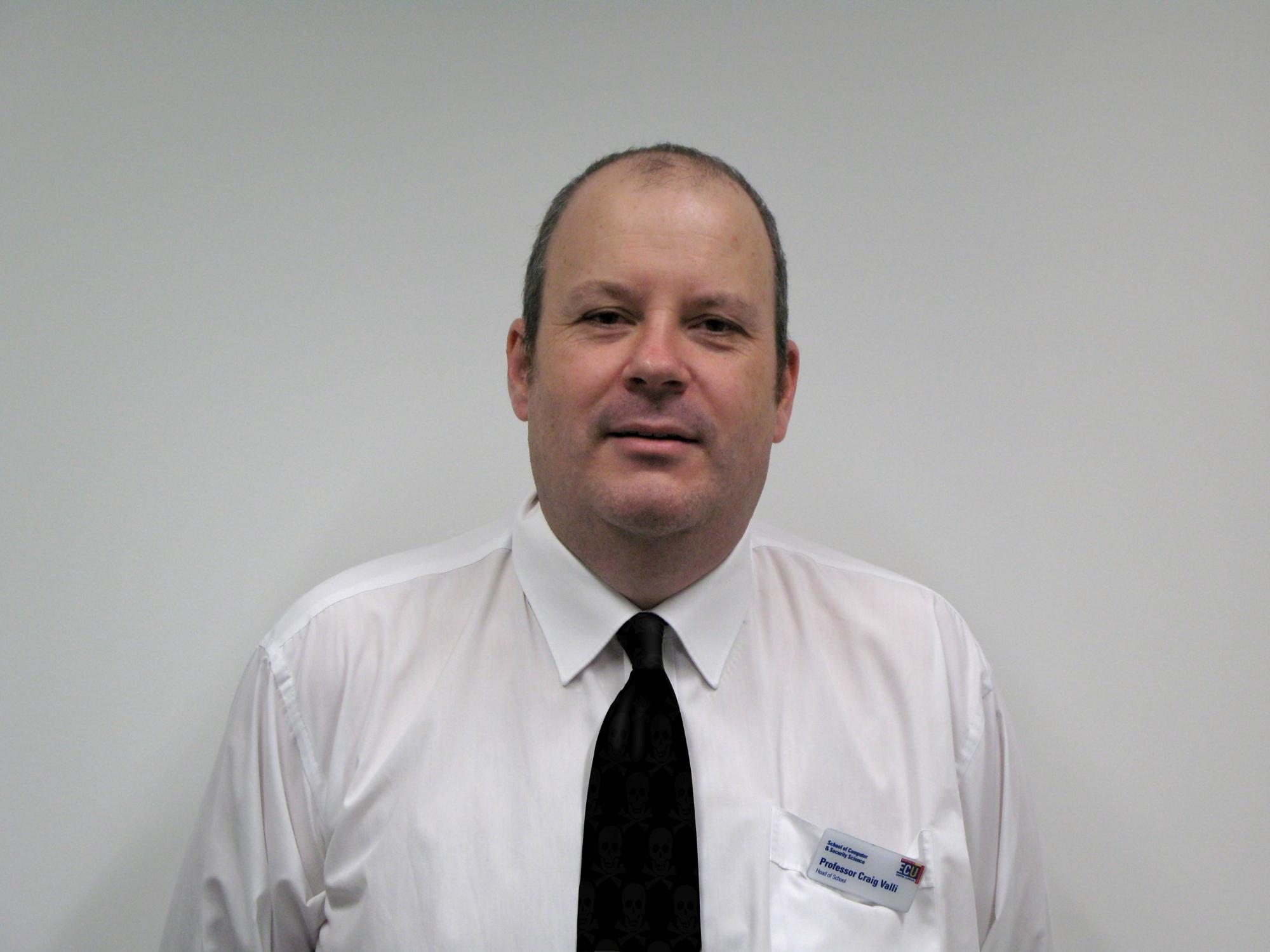Professor Craig Valli.