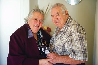 Carmela and Joe Sinagra recently celebrated their 65th Wedding anniversary.