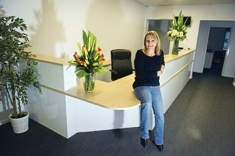 Andrea Edwards has opened a new medical centre. Picture: Emma Reeves d420872