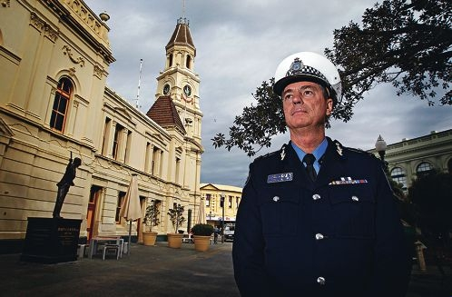 Police Commissioner Karl O'Callaghan. Picture: Elle Borgward www.communitypix.com.au d421037