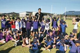 Pav visit inspires students