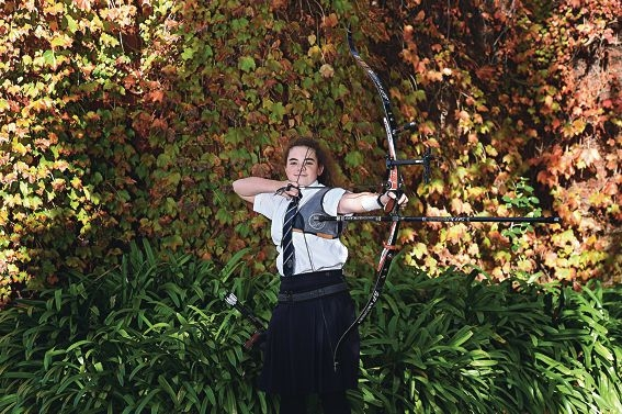 Emma Nolan has readily adapted to the exacting sport of archery.