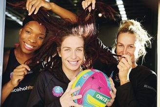 Eboni Beckford Chambers, Ashleigh Brazill and Chelsea Pitman show their dreads. Picture: Andrew Ritchie d420678.