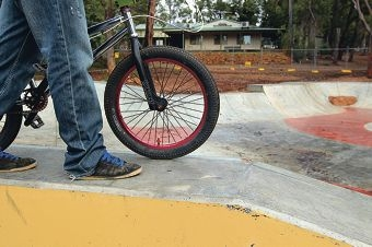 People have been sneaking in to Jarrahdale skate park to try out the facilities ahead of its completion.
