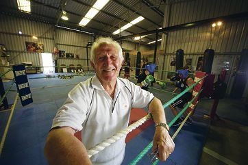 Fred Treble is still going strong, fighting for WA boxing success at the age of 75. d415117