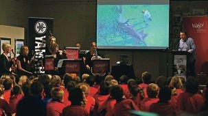 Palmyra Primary School students enjoy a Sound of Picture Books workshop.