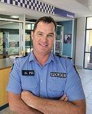 LtoR: Jarrod Scott (Cadet), Snr Sgt Ash Goy (Kensington Police Station)