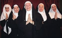 Mahalia Bowles (Woodvale), Alida Chaney (Greenwood), Shelley McGinn (Wanneroo), Jane Anderson (Kingsley) and Jen Edwards are taking to the stage again in Nunsense II: The Second Coming.