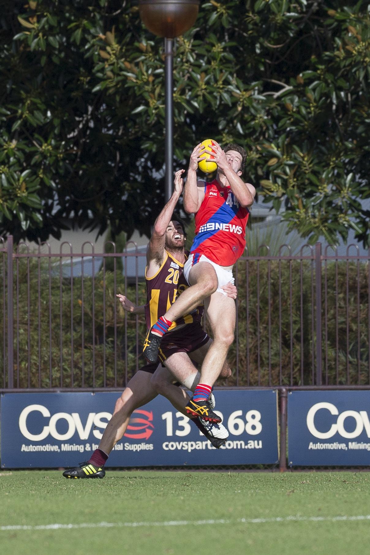 West Perth's Nick Rodda. Picture: Dan White