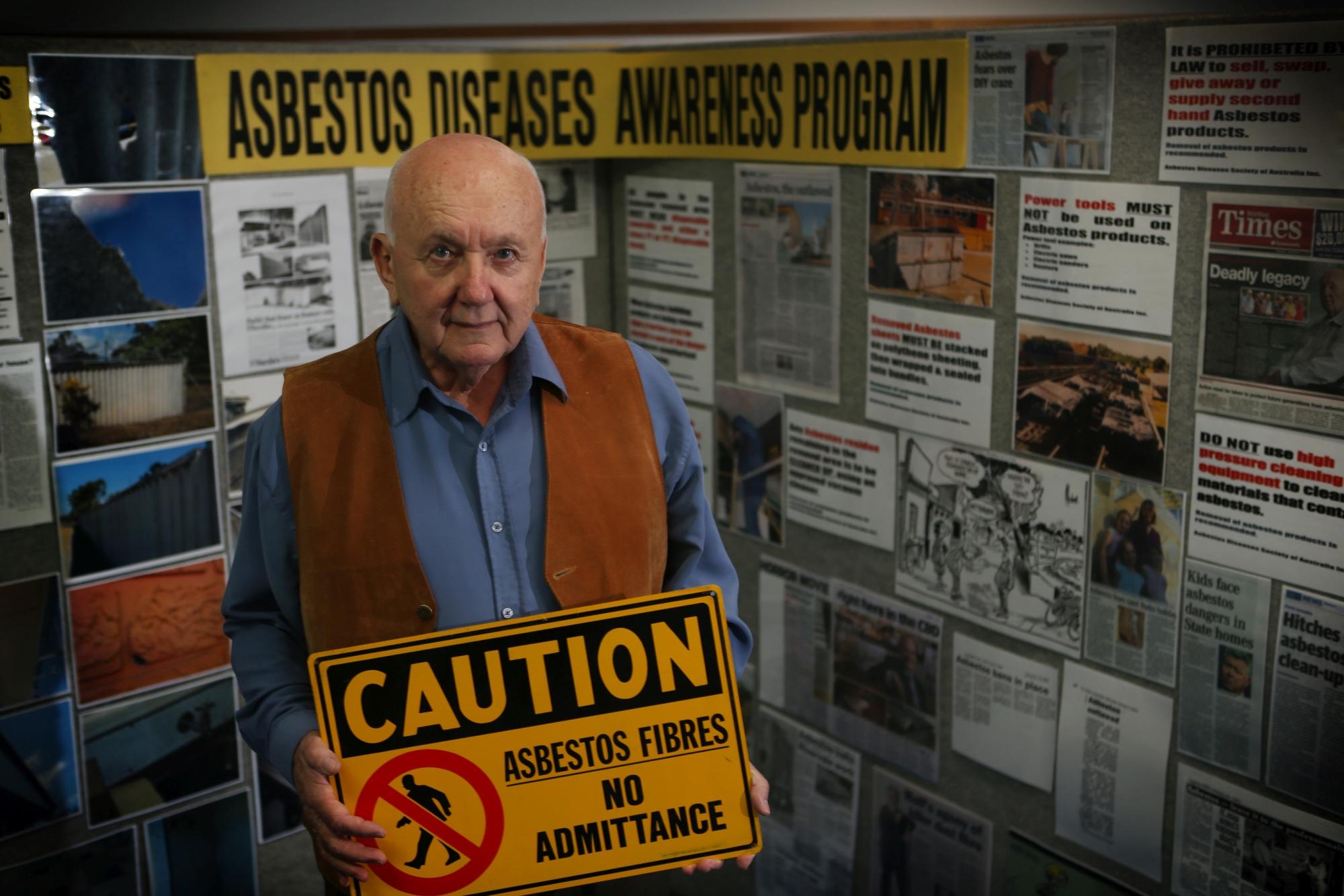 Asbestos Diseases Society of Australia president Robert Vojakovic.