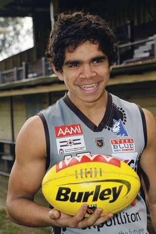 Adelaide Crows rising star Charlie Cameron.
