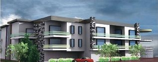 An artist's impression of the proposed three-storey building on Marri Road.