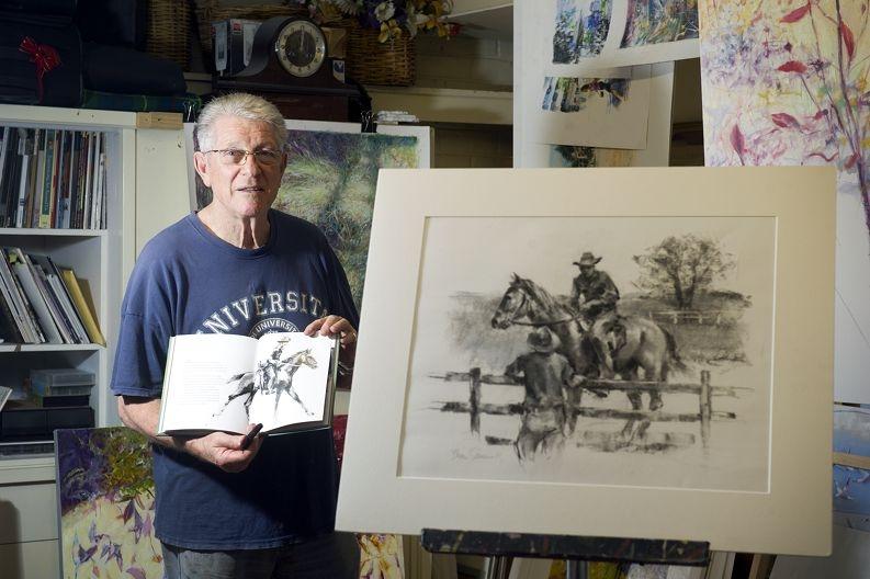 Duncraig illustrator Brian Simmonds.