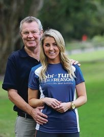 Stephen Willey and his daughter Courtney. d419919