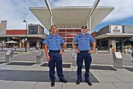 L to R - Sergeant Paul Trimble & Acting Sergeant Tam McKeown
