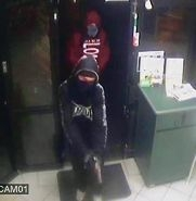 The armed robbers who held up the Maddington Subway store.