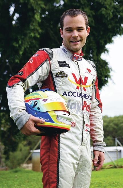 Driver Rhett Noonan will be competing in the Perth round of the Aussie Racing Cars class in the coming weekend.
