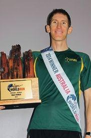Professional runner wins Australian leg of competition
