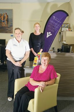 Carrieanne Sweetin-Mooney, Glenda Bignell and Margaret Goodwin at the City of Wanneroo's new Volunteer |Resource Centre.