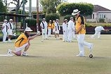 Australian Blind Bowls Championships West Australian competitors and husband and wife team Sharon and Trevor Ferres [NAMES OK]