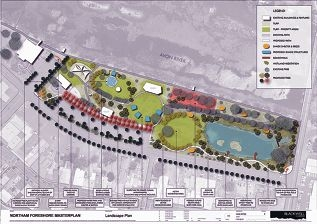 The Bernard Park master plan has been endorsed.