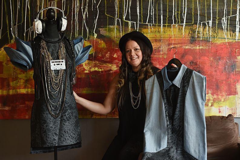 Fashion designer and Morley resident Teagan Cowlishaw (30) [NAMES OK]