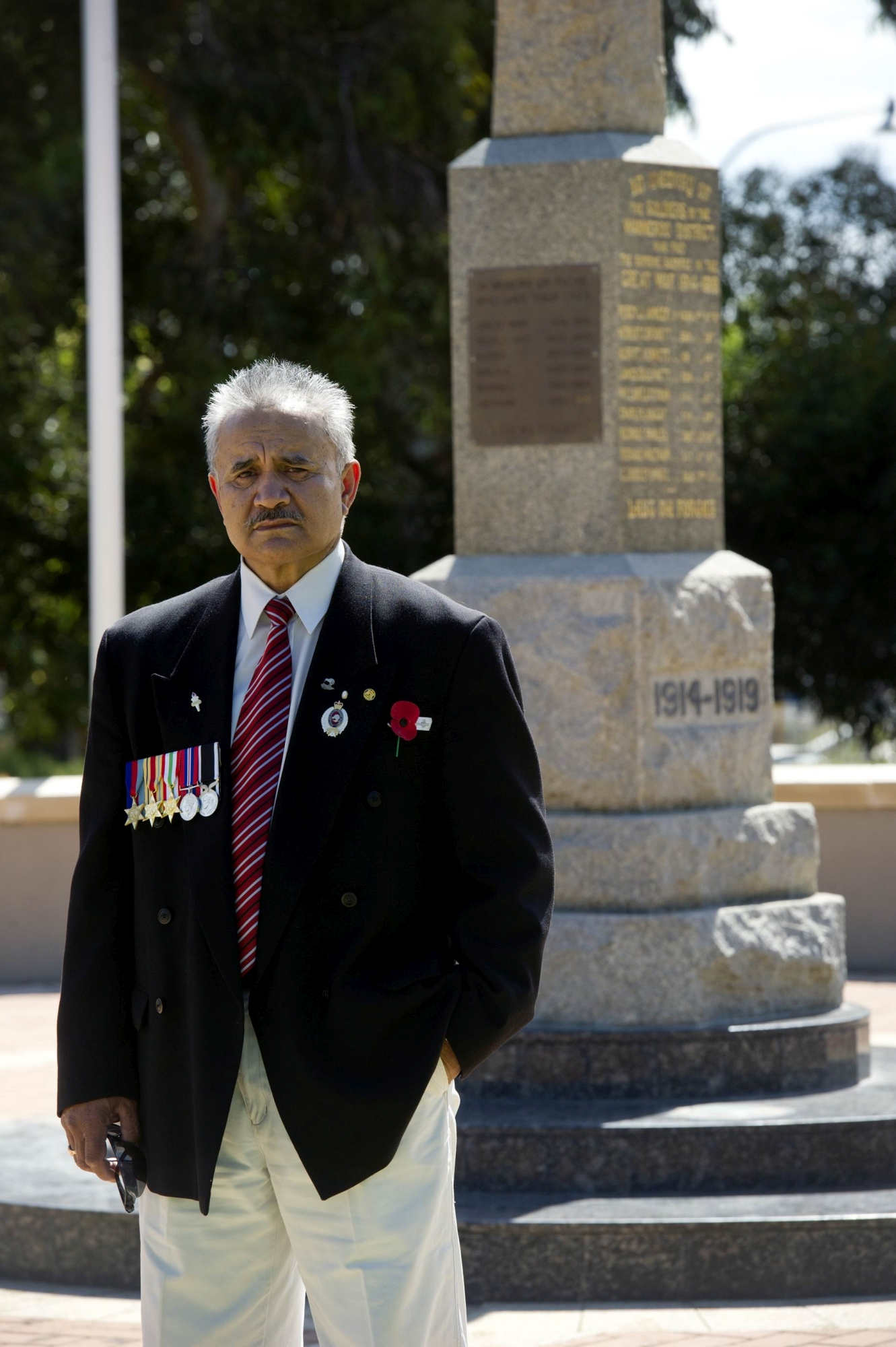 Piripi (Phil) Ranieri is gathering ex- NZ soldiers to attend the Wanneroo Anzac Day ceremony. d418317