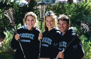 Carina Tabuteau (14-Melville),Emily Wills (14-Melville) and Gerard Wills (Melville)