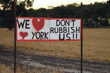 York residents have opposed the planned landfill since it was announced.