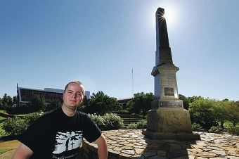 Andrew Bratley is researching the history of WA's military servicemen.