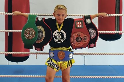 Promising young muay thai fighter Max McVicker has his sights set on a good showing in Kuala Lumpur,