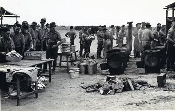 Members of the 10th Light Horse Regiment camping in Wanneroo. Picture: Picture Wanneroo
