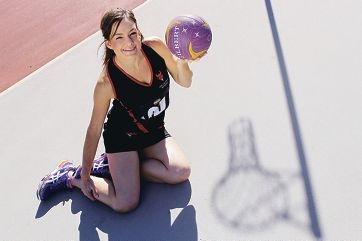 Danielle Mitchell credits her love of the game for her long and successful netball career. Picture: Marcelo Palacios www.communitypix.com.au d417840