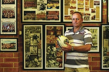 North Beach Rugby League Club president Dale Lofts. Picture: Marcus Whisson d418006