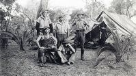 10th Light Horse soldiers camping at Wanneroo. Picture courtesy City of Wanneroo
