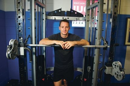 Callan Moore opened his fitness studio last week in a first for the area. Picture: Emma Reeves www.communitypix.com.au d417519