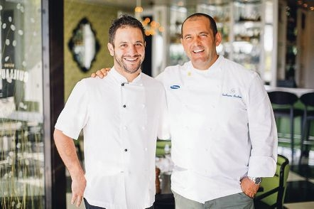 Chefs Peter Manifis and Guillaume Brahimi will cook up a storm for children in need.