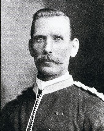 The first Mayor of the Municipality of Victoria Park, Captain Robert Thompson McMaster.