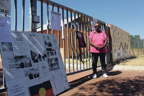 Bella Bropho wanted to see a Lockridge Aboriginal campsite reopened but instead it was demolished.