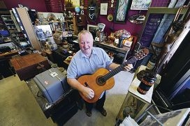 Peter Hesketh owner of Sgt Peppers Vintage & Vinyl Collective