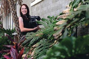 Award-winning documentary filmmaker Hannah Moran (22, Joondanna) [NAMES OK]