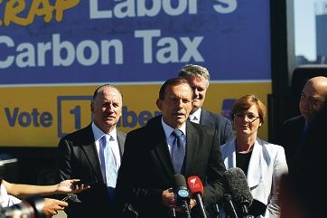 Prime Minister Tony Abbott weighs in on the WA Senate election. Picture: Andrew Ritchie www.communitypix.com.au d416713