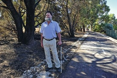 Frank Hill suspects an arsonist is at work in Greenfields.